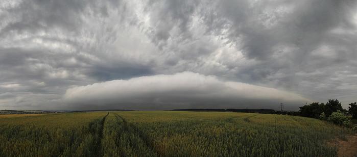 Roll cloud - autor: Tomáš Chlíbec