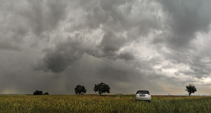 Odcházející bouřka - autor: Tomáš Chlíbec