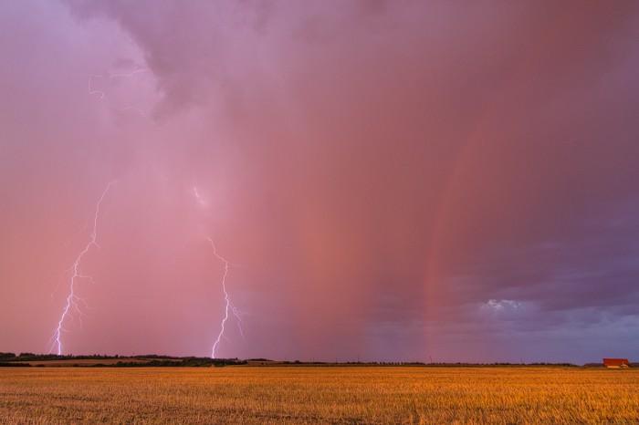 Bouřka při západu slunce 5 - autor: Tomáš Chlíbec