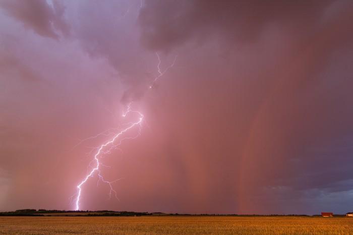 Bouřka při západu slunce 6 - autor: Tomáš Chlíbec