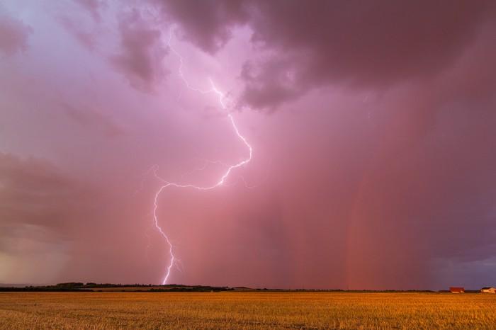 Bouřka při západu slunce 4 - autor: Tomáš Chlíbec