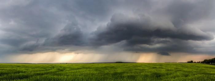 panorama přicházející bouře - autor: Luboš Tuháček