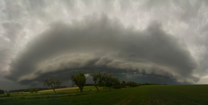 Shelf cloud III - autor: