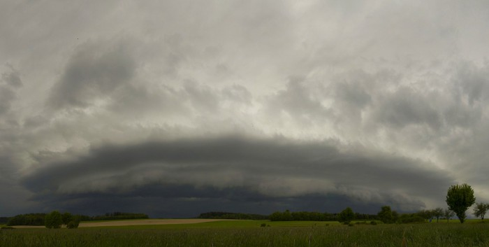 Shelf cloud I - autor: