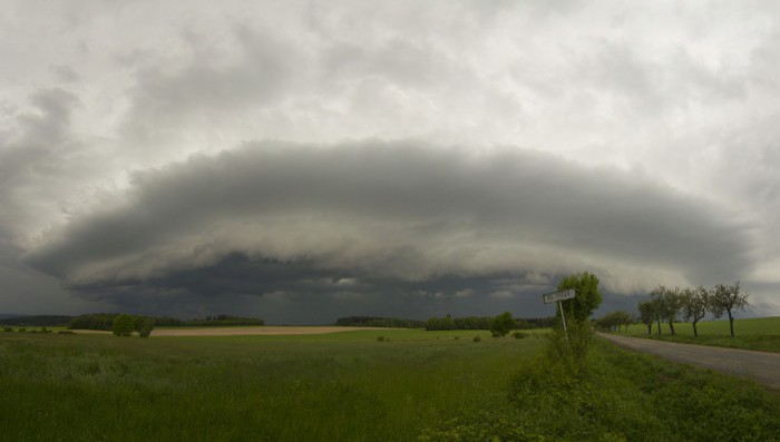 Shelf cloud II - autor: