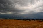 Shelf cloud na čele systému - autor: Jan Džugan