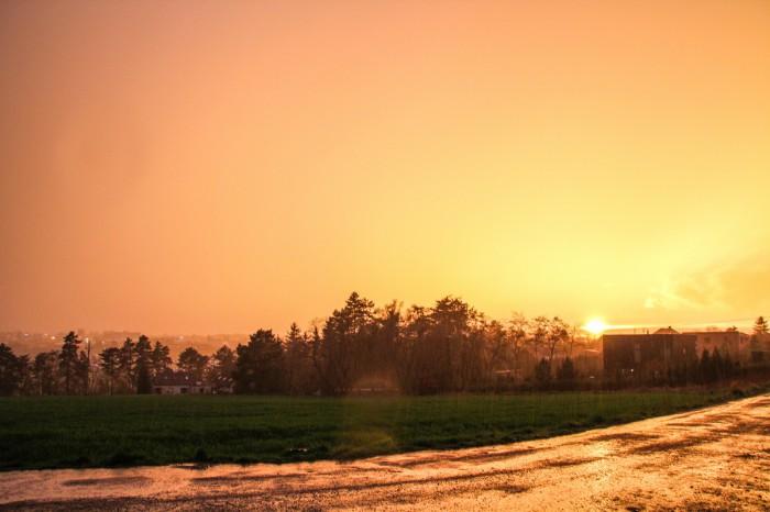 Západ Slunce po bouřce 1 - autor: Jan Džugan