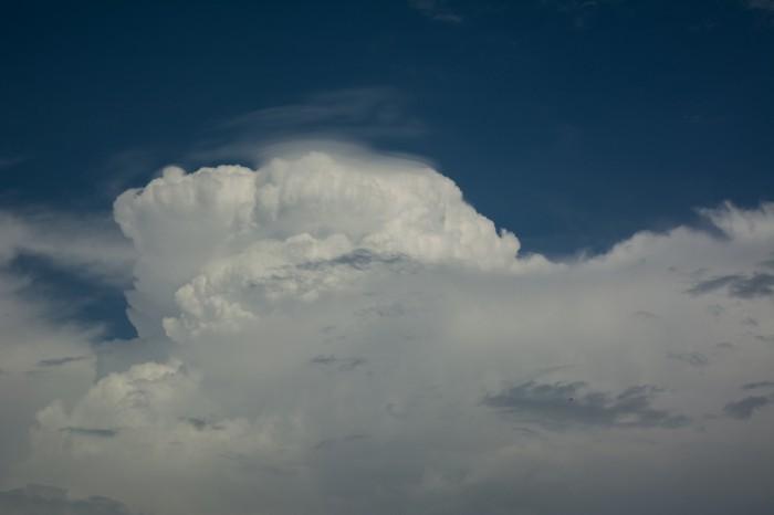 Vrchol bouře a pileus - autor: Jan Džugan