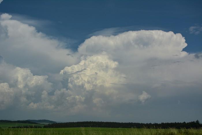 Silná bouřková buňka - autor: Jan Džugan
