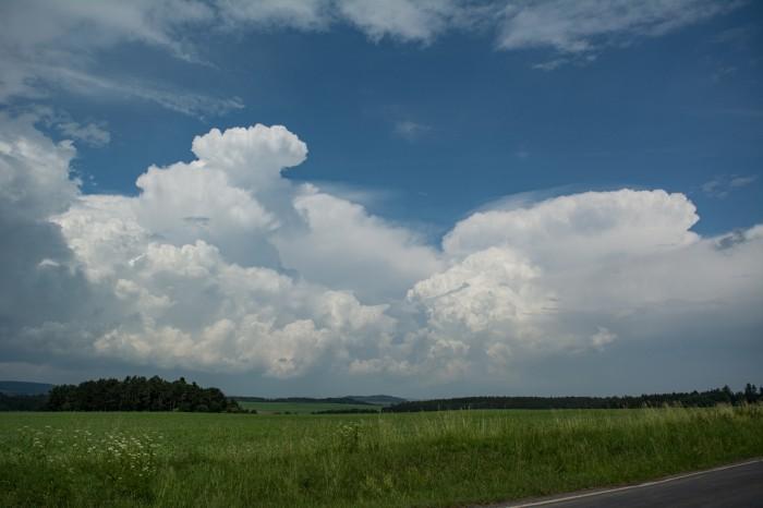 Silné bouřky směrem keKrušným horám - autor: Jan Džugan
