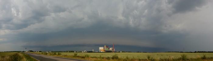 Panorama blížící se bouře 1 - autor: Jan Džugan