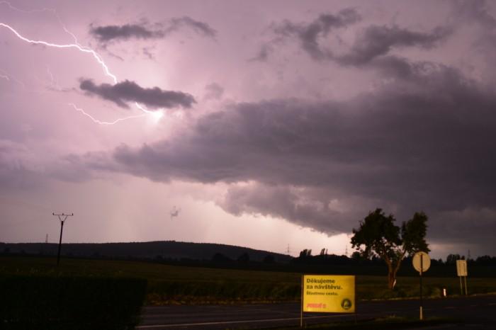 CC blesk při odchodu bouře - autor: Jan Džugan