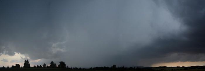 Přicházející bouře od západu - autor: Jan Džugan