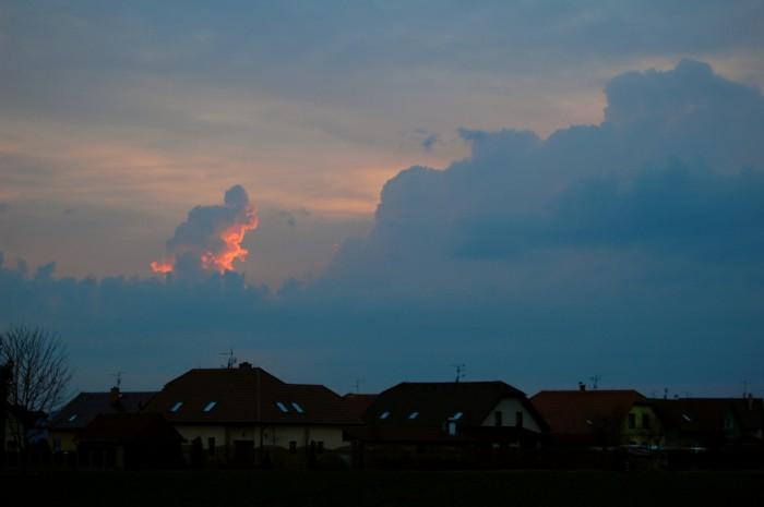 Večerní cumulonimby - autor: Jan Džugan