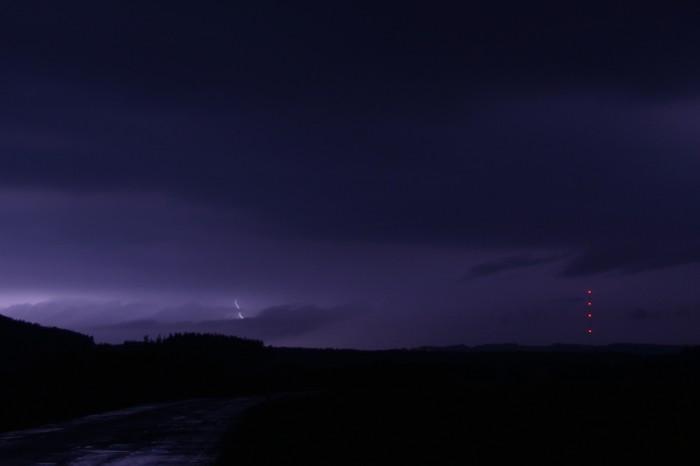 Druhá vlna bouřek a CG blesk - autor: Jan Džugan