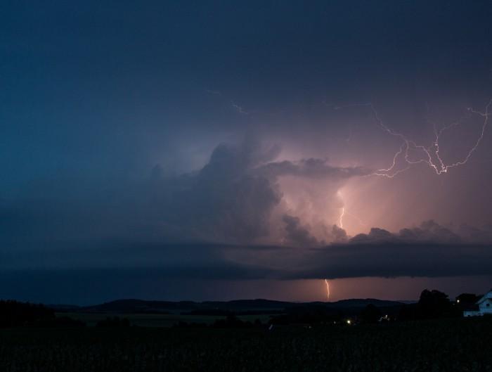 CG blesk na bouři - autor: Jan Džugan