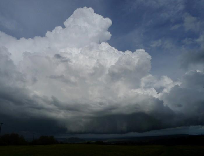 Jižní strana bouřky - autor: Jan Džugan