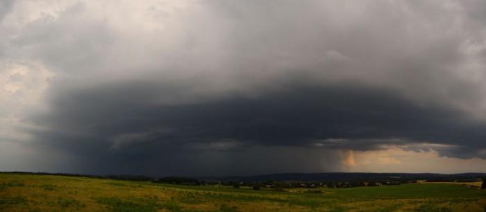Panorama bouře na jihovýchodě  - autor: Jan Džugan
