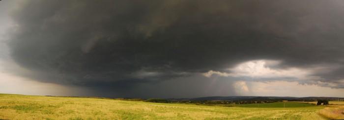 Další panorama blížící se bouře  - autor: Jan Džugan