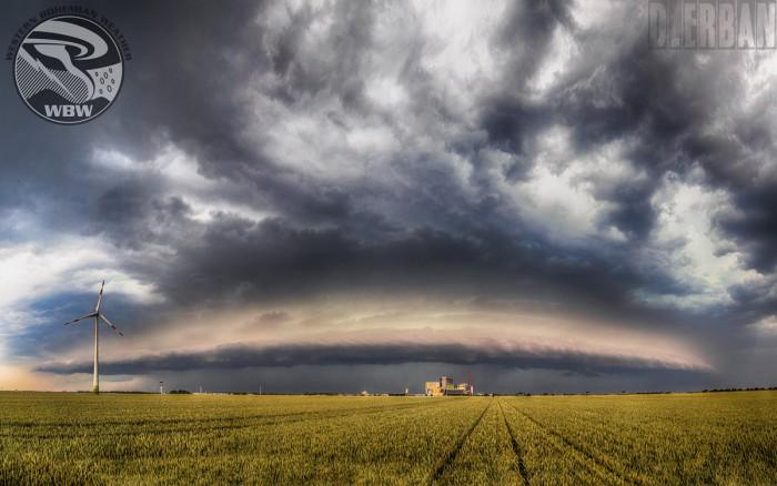 Panorama bouře uLeipzig - autor: Jan Džugan