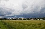 Wall cloud na první podezřelé buňce - autor: Jan Švarc