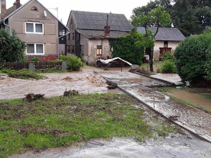 Konicko, přívalová povodeň - autor: Jan Švarc