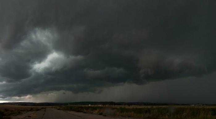 Panorama příchodu bouře - autor: Jan Švarc