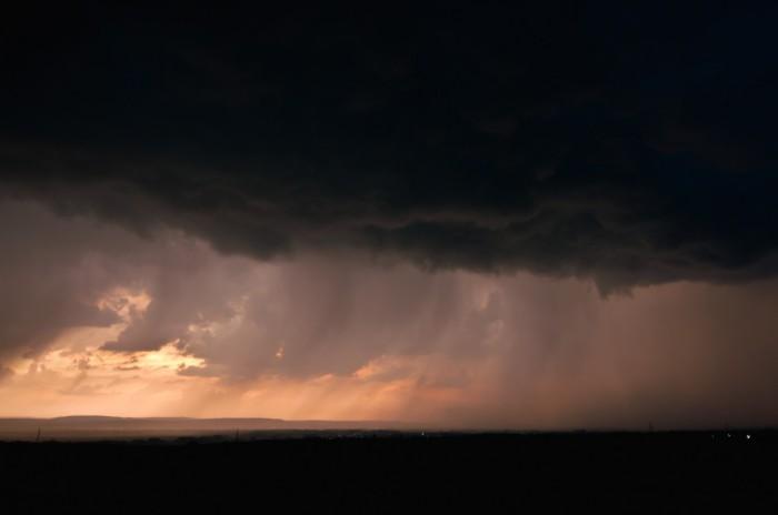 Srážková stěna nasvícená pozdním sluncem I- autor: Jan Švarc