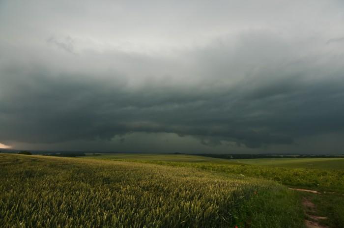 Vzdálený shelf cloud II - autor: Jan Švarc