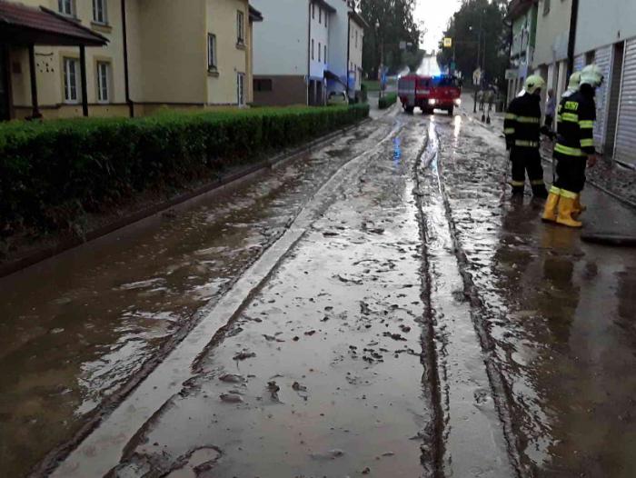 Přívalový déšť na Žďársku - autor: Jan Švarc