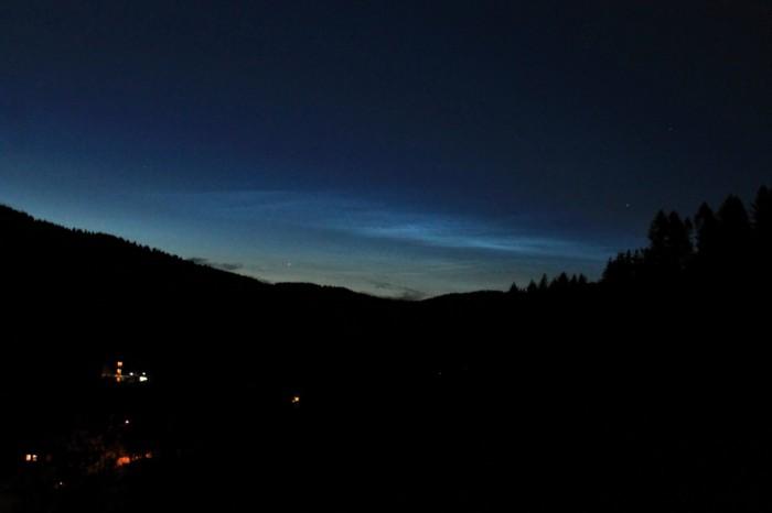 Noční svítící oblaka - autor: Ondřej Boháč