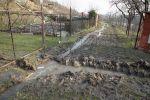 Zaplavená cesta mezi zahrádkami - autor: Jan Drahokoupil