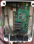 Zničená elektronika meteostanice - autor: Lukáš Ronge