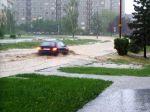 Následky přívalového deště - autor: Archiv fotek zčlánků