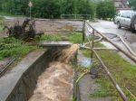 Odčerpávání vody zezatopených pozemků a sklepů - autor: Tomáš Prouza