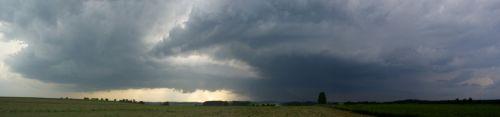 panorama bouřkové situace - autor: Tomáš Novotný