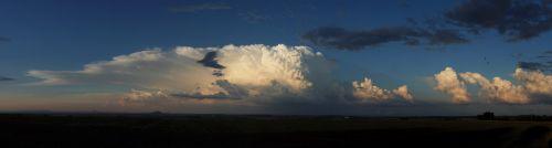 Panorama cumulonimbu na Mladoboleslavsku - autor: Jan Drahokoupil