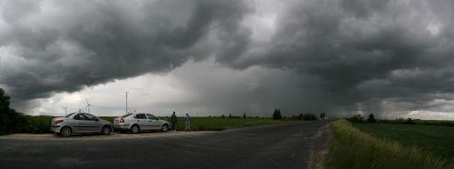 Panorama přicházející bouře - autor: Veronika Mičáková